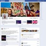 Coldplay-Page Chronik Timeline Verband