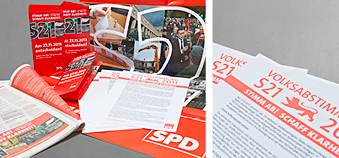 Kampagne zur S21-Volksabstimmung