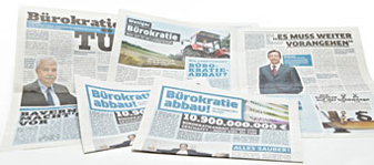 Publikation Bürokratieabbau