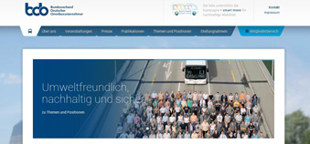 Verbandswebsite: Relaunch
