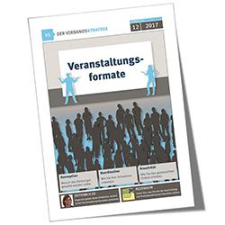 Verbandsstratege 12/2016, Veranstaltungsformate, Cover