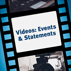 Verbandsstratege Videos Statements und Events