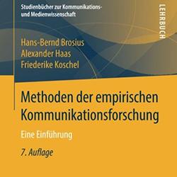 Rezension Methoden der empirischen Kommunikationsforschung