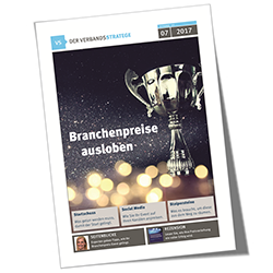 Verbandsstratege 2017-07, Branchenpreise ausloben, Cover