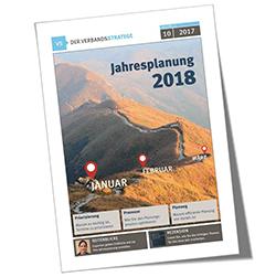 Verbandsstratege 2017-10, Jahresplanung 2018, Cover
