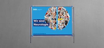 """""""Wir sind Neurologie."""" <br>Kampagne zur Mitgliedergewinnung"""